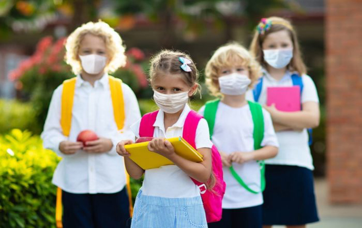As children forced to wear masks, study finds 60% of kids already lack cardiorespiratory fitness