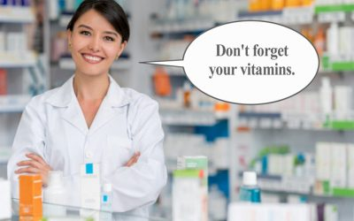 Is taking a vitamin/mineral supplement important? 80% of pharmacists think so