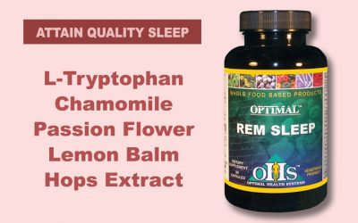 Almost 14 million Americans suffer from sleep disorders—We have the nutrients that can help