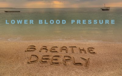 Deep breathing for five minutes lowers blood pressure as much as exercise or drugs