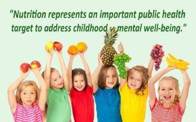Children who eat more fruit and veggies have better mental health, research shows